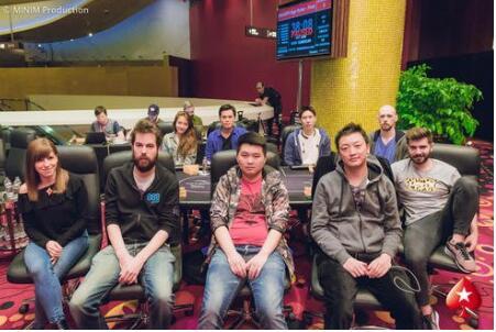 6UP Pokerstars大神高速赛国团扬威